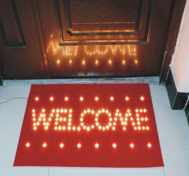 fy 002 a08 natal led doormat tapete l mpada l mpada. Black Bedroom Furniture Sets. Home Design Ideas
