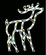 christmas deer plastic frame li cheap christmas deer plastic frame light bulb lamp - Plastic frame lights China manufacturer